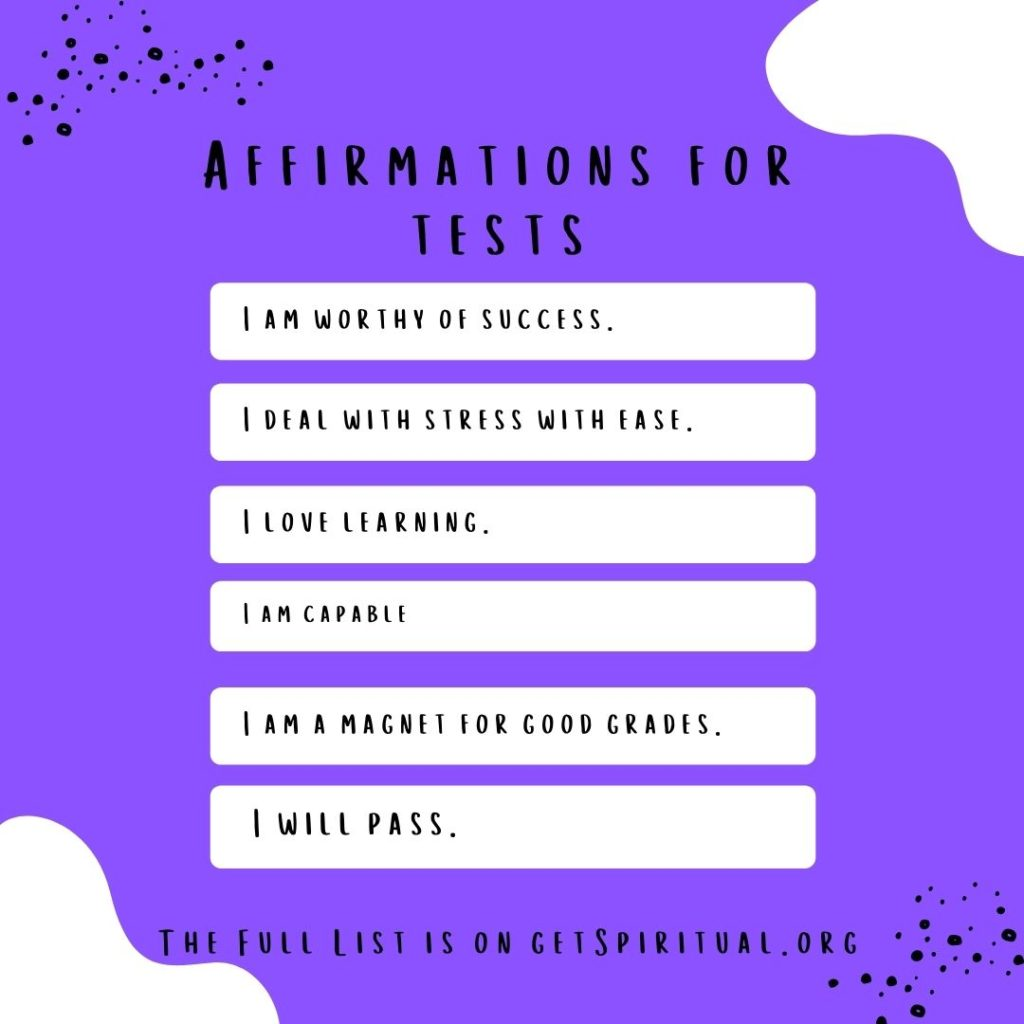 Affirmations for Test Taking (1)