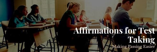Affirmations for Test Taking