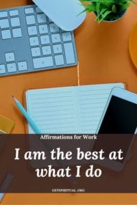 Affirmations for Work Card 3