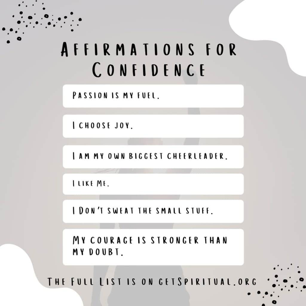 Daily Affirmations for Confidence