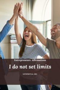 Entrepreneurs Affirmation Card 1