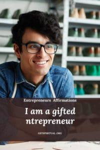 Entrepreneurs Affirmation Card 2