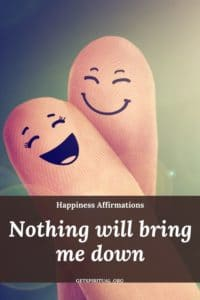 Happiness Affirmation Card 1