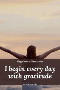Happiness Affirmation Card 2