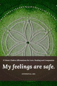 Heart Chakra Affirmation Card 2