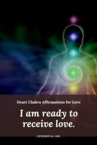 Heart Chakra Affirmation Card 3
