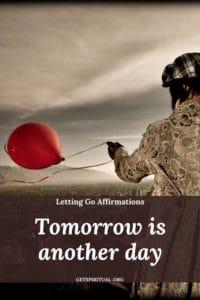 Letting Go Affirmation 1