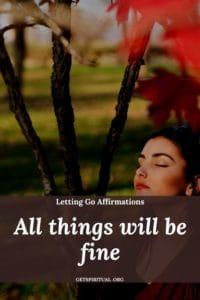 Letting Go Affirmation 3