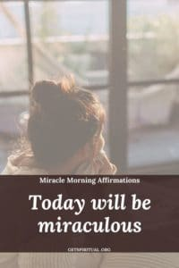 Miracle Morning Affirmation 2