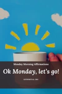 Monday Morning Affirmation Card 3