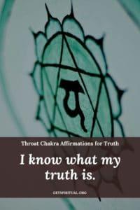 Throat Chakra Affirmation Card 3