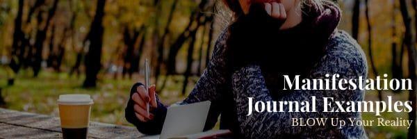 Manifestation Journal Examples